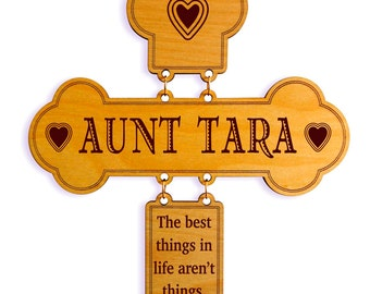 Auntie Mothers Day Gifts - Aunt Mother's Day Gift - Gift for Aunt - Gift for Auntie Personalized
