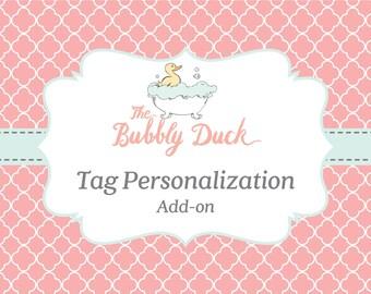 Tag Personalization Add-on