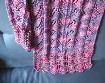 Cotton Lace Scarf/Shawl