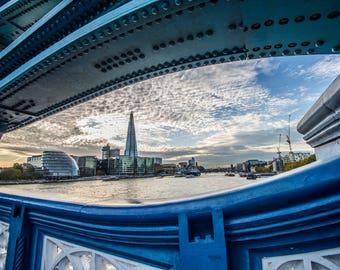 London photography, Tower bridge print ,  London Bridge, London, wall art, home decor, city photography, England, special gift