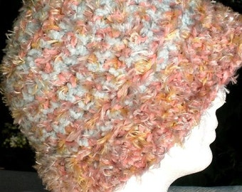Soft and Sumptuous Crocheted Cap