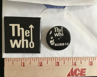 The Who - Pins - 1980s