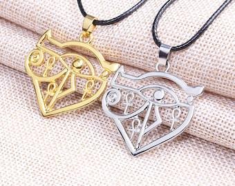 Beautiful eye of Horus, Ra, Horus, Egypt necklace pendant