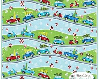 Mulberry Lane, Street Scene, Yardage, Cherry Guidry, Benartex Fabric, Christmas Fabric
