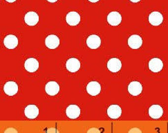 Windham Basics - Brights Aspirin Dot Red from Windham Fabrics