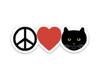 Peace, Love, Officer Tom Magnet