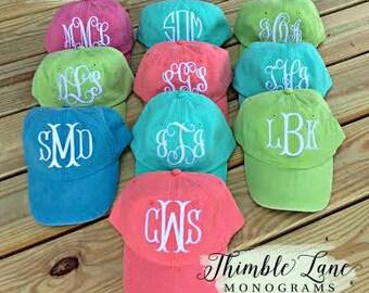 Monogrammed Baseball Cap for Women, Personalized Ball Cap, Monogram Cap, Baseball Cap for Women, Bridesmaid Gift, Personalized Hat,