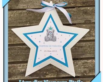 Star Teddy bear teddy Bear Me to You guest book