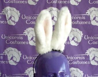 White Floppy Rabbit Ears