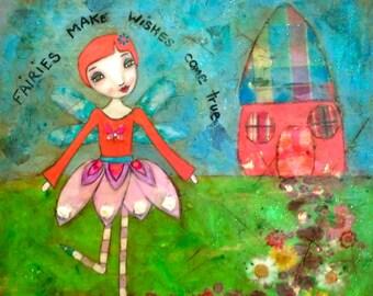 Fairies Make Wishes Come True