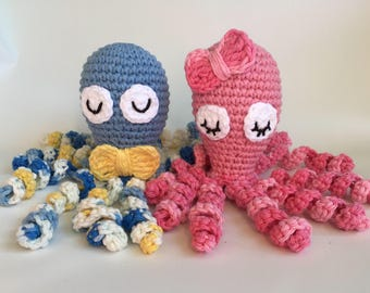 PATTERN ONLY, Crochet Preemie Octopus, preemie comfort, NICU octopus, premature octopus, premie comfort octopus, premie octopus
