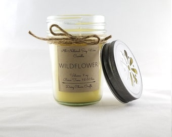 Scented Soy Candles: Spring Collection