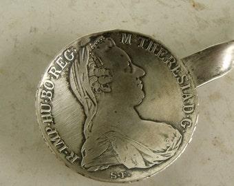 Coin Maria Theresa Thaler Silver Buillon Spoon