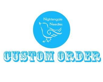 Custom Order for shahar5