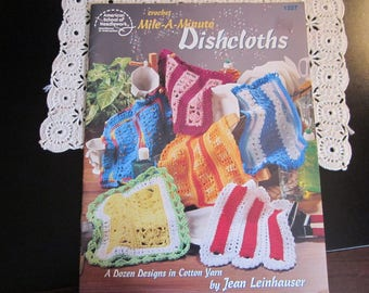 12 Dishcloth Designs in Cotton Yarn
