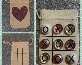 Valentines day Tic tac toe bags
