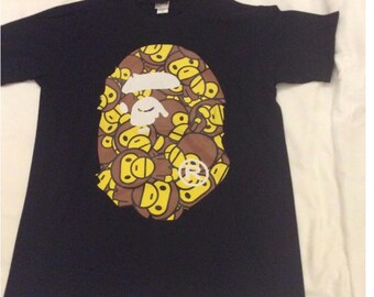 A Bathing Ape T shirt. New old stock never worn