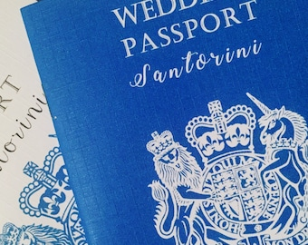 Passport wedding invitation, wedding, destination wedding, wedding abroad, travel style
