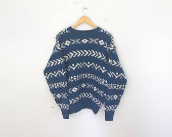 90's Gap sweater, Fall sweater, made in usa, wool, size 8, warm sweater, winter sweater