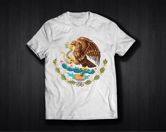 Escodo De Mexico Aguila Playera