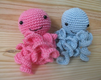 adorable little Octopus make crochet