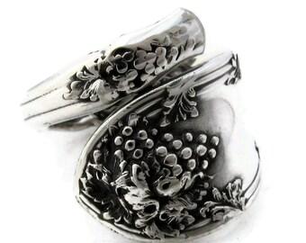 Spoon Ring Size 5 To 8 Demitasse La Vigne