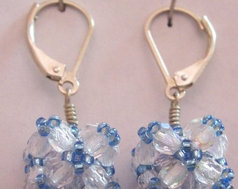 ScaffoldCube earrings