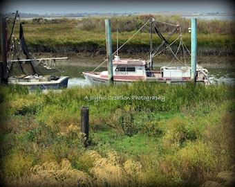 Shrimp Boats - Shrimping - Boats - fishing boats - Boat photo - Shrimp Boats photo - Shrimping photo - Northern California - California