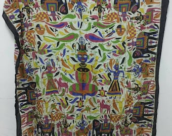 Rare Vintage Tribal Images  Scarves / Scarf Unique  Design