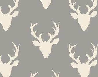 Buck Forest Knit Mist by Art Gallery