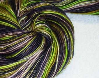 Grapevine - Handspun - 268 yds - Luxury - Fingering Weight - Knitting - Crochet - Tatting - Weaving - Fiber Arts - Mixed Media