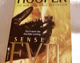 SENSE OF EVIL by Kay Hooper @ 2003