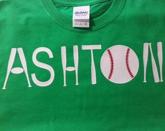 Baseball bat shirt