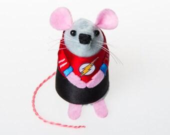 Sheldon Cooper The Big Bang Theory Mouse ornament gift for boyfriend husband wife girlfriend geek nerd physicist mice rat hamster TBBT fan