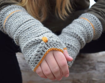Sōlstice | Fingerless crochet gloves | PATTERN # 53