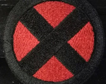 X-Men Inspired Embroiered Sew on Patch