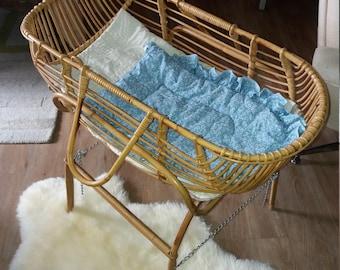 baby vintage rattan basket