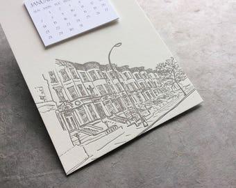 Brooklyn Cityscape 2018 Postcard Calendar