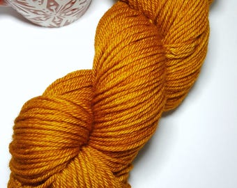 """GINGERBREAD Worsted 100% Merino Non Superwash """" Perfect for hats, sweaters, mittens, cowls-all your Fall or Holiday projects. So cozy & warm"""