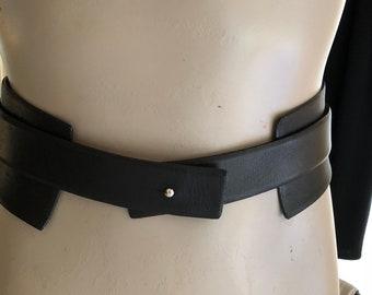 Loewe Loewe leather belt leather belt