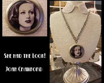 Classic Hollywood Lover's Necklace - Joan Crawford