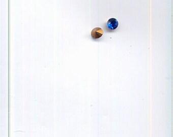 144 PP11 Art. 1100 Blue Zircon Swarovski Rhinestones