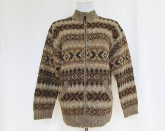 Ralph Lauren Cardigan Sweater Vintage 90s L