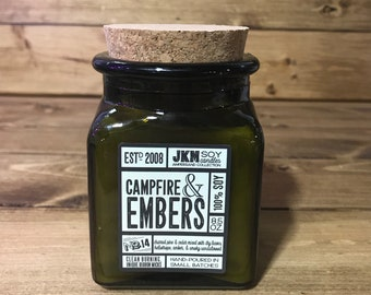 Campfire & Embers Soy Candle - Ampersand Collection