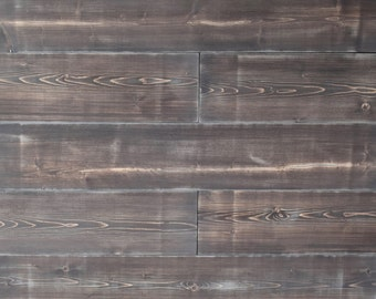 Shiplap- Mountian Gray wide Plank Interior Shiplap, feature wall, wood wall, accent wall, shiplap wall, barn wood siding,