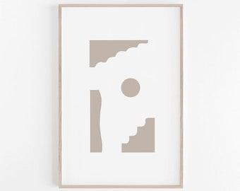 Geometric Wall Art, Scandinavian Print, Minimalist Wall Art, Geometric Print, Modern Wall Art, Minimalist Print, Scandinavian Wall Art Print