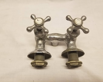 Antique Hot and cold water faucet Standard
