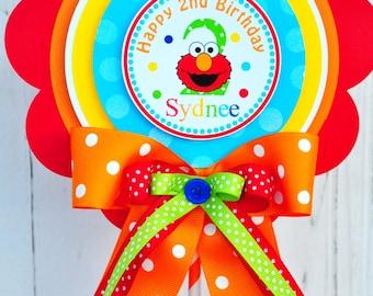 Elmo Centerpiece,Elmo Birthday Party, Deluxe Party Centerpiece