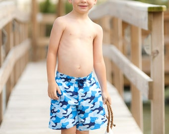 Cool Camo Beach, Cool Camo Swim Shorts, Cool Camo Beach Towel, Personalized Gift, FREE Personalization