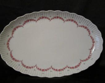 Beautiful Floral Platter German